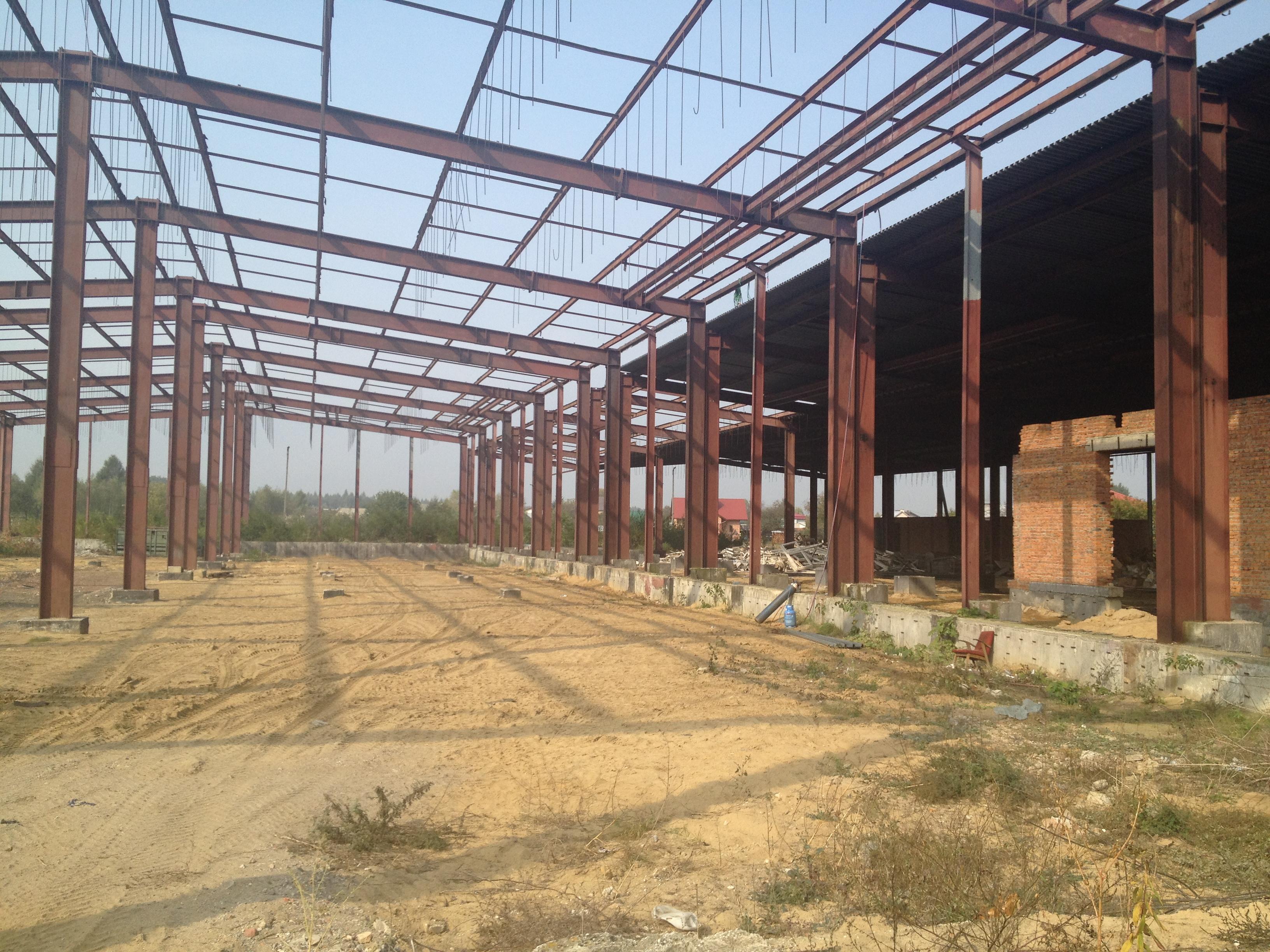 Modernistyczne Konstrukcja hali stalowej 3673 m 2 – KLS – wszystko dla przemysłu PW32